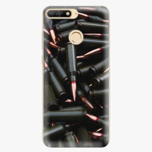Silikonové pouzdro iSaprio - Black Bullet - Huawei Y6 Prime 2018