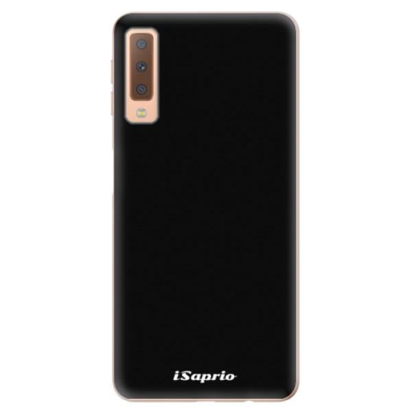 Odolné silikonové pouzdro iSaprio - 4Pure - černý - Samsung Galaxy A7 (2018)