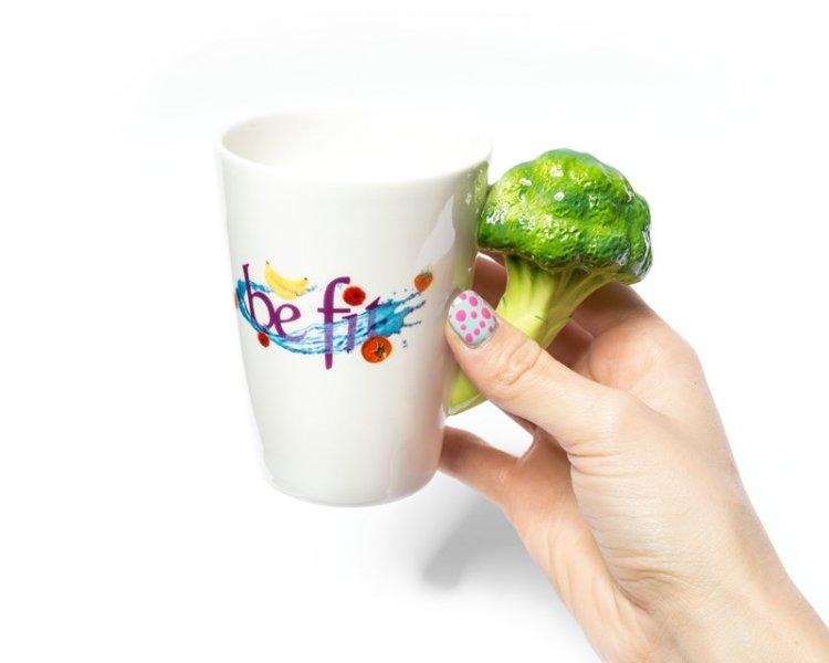 Hrnek buď FIT - Hrnek buď FIT - brokolice