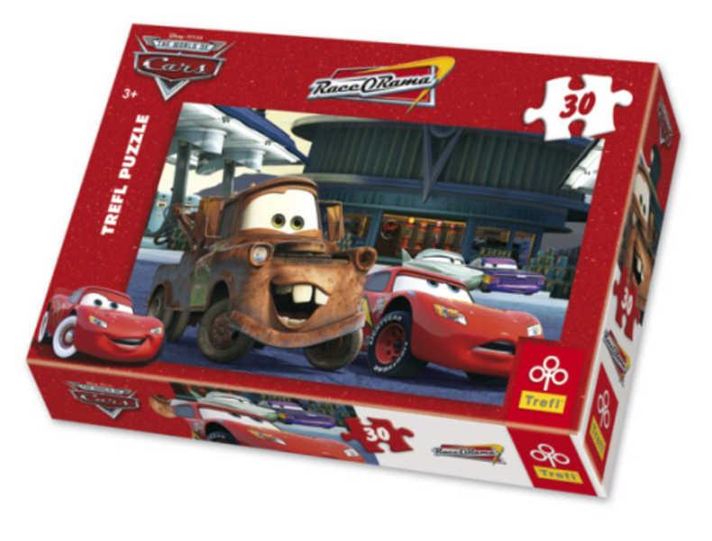 TREFL Puzzle 30 Čerpací stanice Cars 118137
