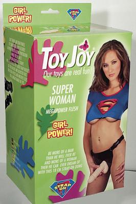 Připínací penis - Super Woman