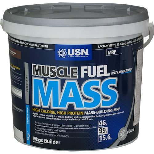 Muscle Fuel Mass - 5000g-cokolada
