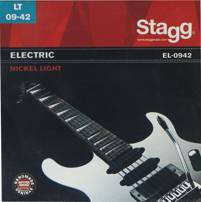 Stagg EL-0942, sada strun pro elektrickou kytaru