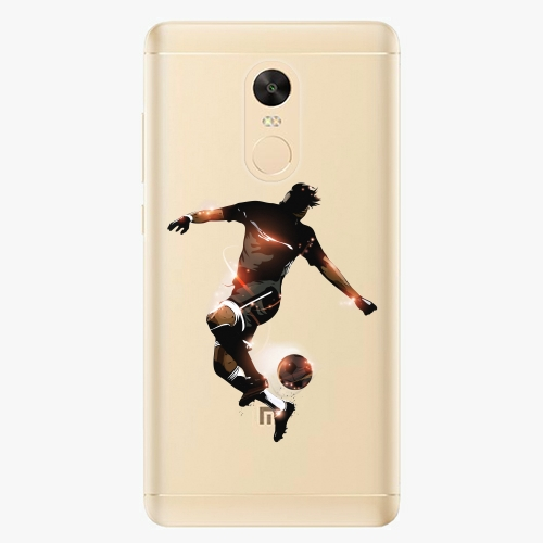 Plastový kryt iSaprio - Fotball 01 - Xiaomi Redmi Note 4X