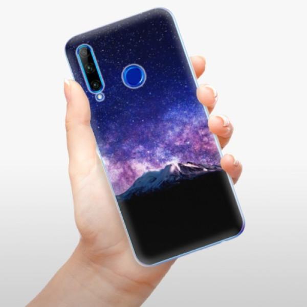 Odolné silikonové pouzdro iSaprio - Milky Way - Huawei Honor 20 Lite