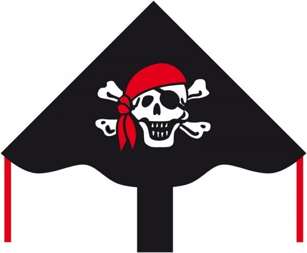 Veselý pirát Roger 85x42 cm - Miniprop