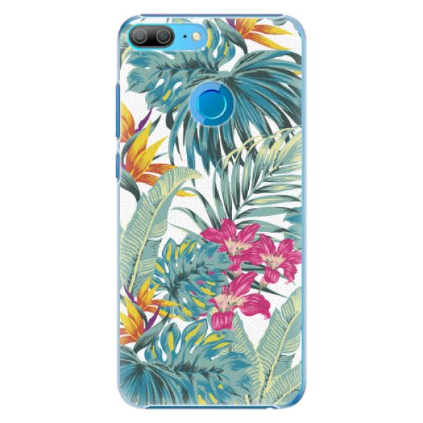 Plastové pouzdro iSaprio - Tropical White 03 - Huawei Honor 9 Lite