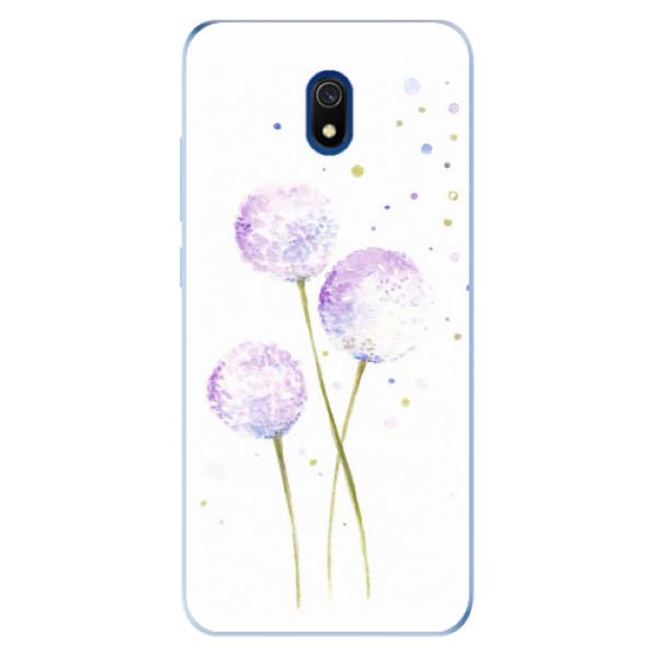 Odolné silikonové pouzdro iSaprio - Dandelion - Xiaomi Redmi 8A