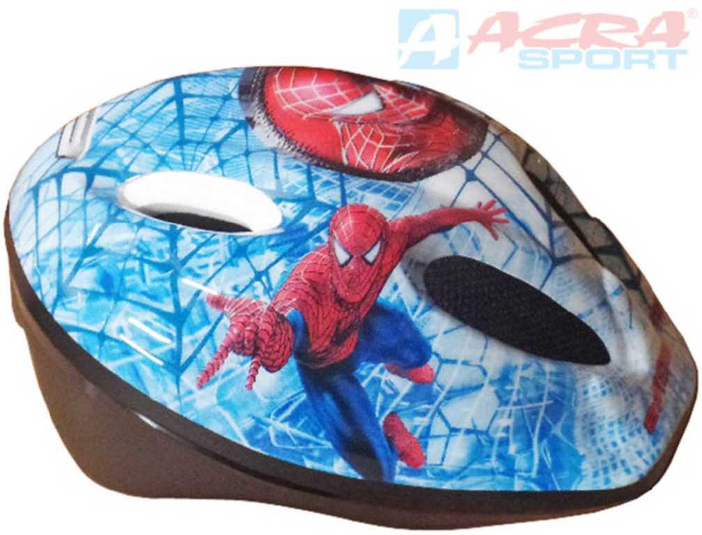 ACRA Dětská cyklistická helma Mondo vel. S (48-52cm) 2013 Spiderman CSH05