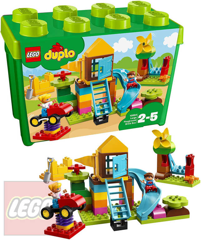 LEGO DUPLO Velký box s kostkami na hřiště 10864 STAVEBNICE