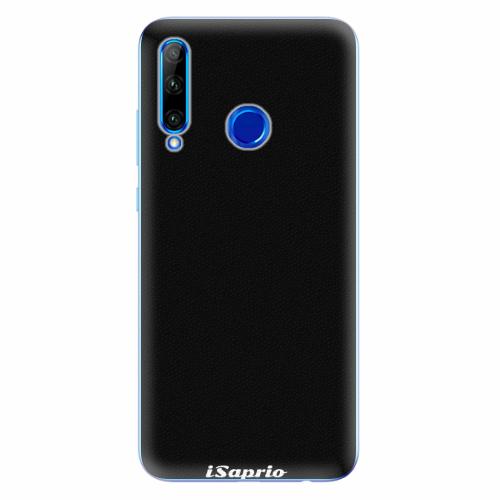 Silikonové pouzdro iSaprio - 4Pure - černý - Huawei Honor 20 Lite