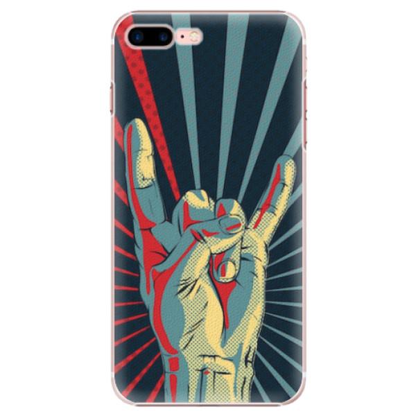 Plastové pouzdro iSaprio - Rock - iPhone 7 Plus