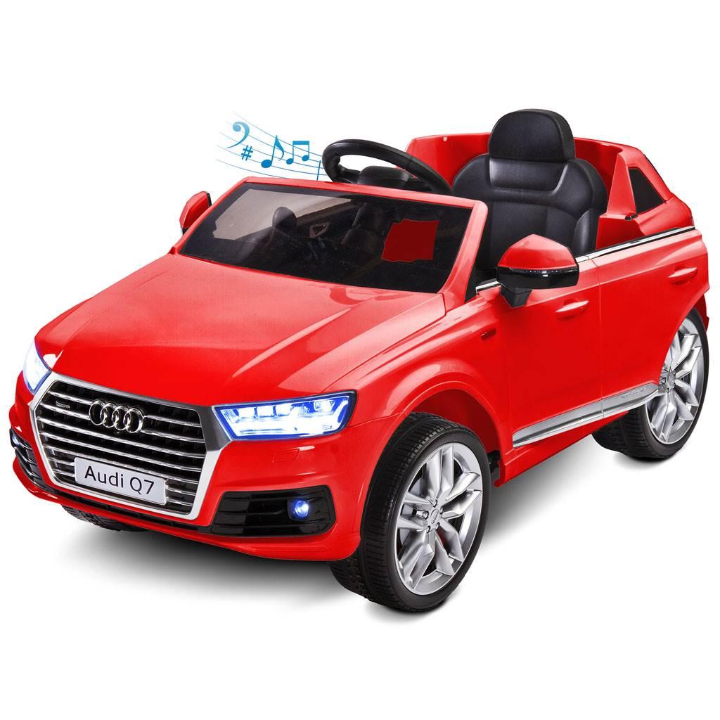Elektrické autíčko Toyz AUDI Q7-2 motory - red - červená
