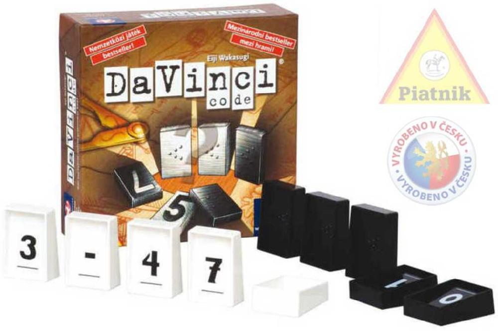 PIATNIK Karetní Hra DaVinci Code *SPOLEČENSKÉ HRY*