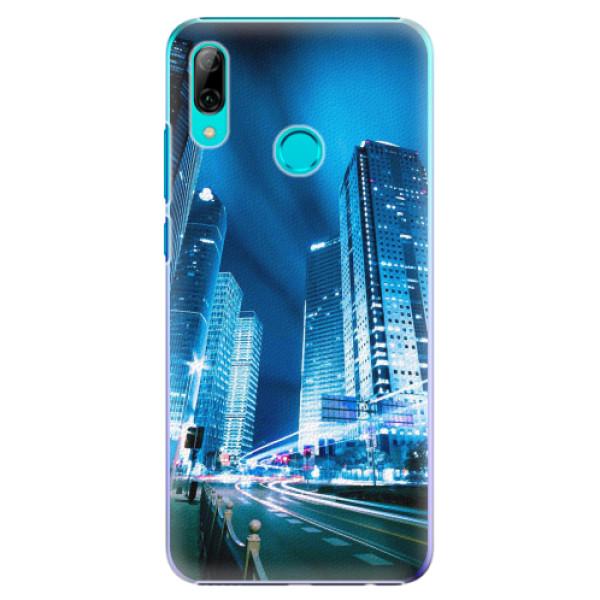 Plastové pouzdro iSaprio - Night City Blue - Huawei P Smart 2019