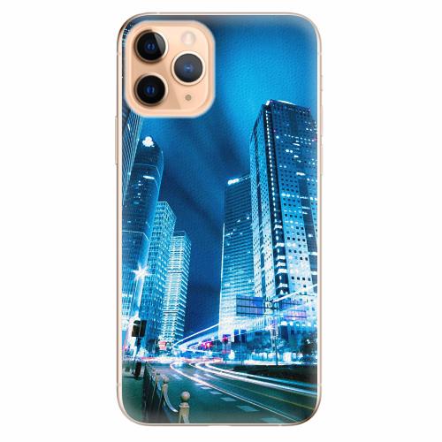 Silikonové pouzdro iSaprio - Night City Blue - iPhone 11 Pro