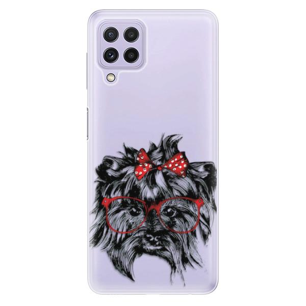 Odolné silikonové pouzdro iSaprio - Dog 03 - Samsung Galaxy A22