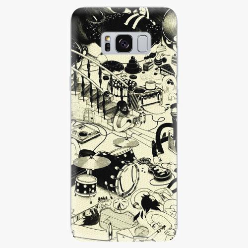 Silikonové pouzdro iSaprio - Underground - Samsung Galaxy S8
