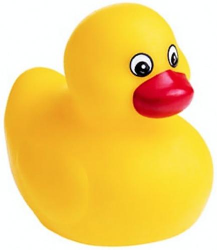 PROFIBABY Kačenka baby pískací gumová do vany 3 barvy v sáčku