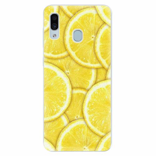 Silikonové pouzdro iSaprio - Yellow - Samsung Galaxy A30