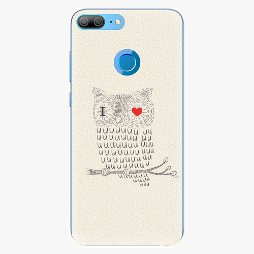 Plastový kryt iSaprio - I Love You 01 - Huawei Honor 9 Lite