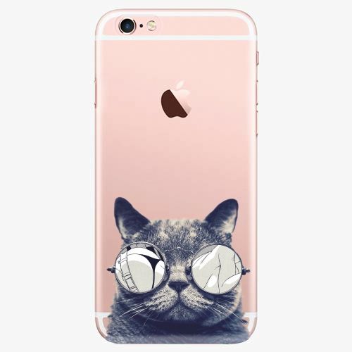 Plastový kryt iSaprio - Crazy Cat 01 - iPhone 7