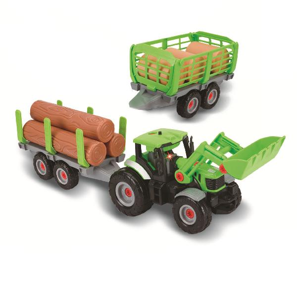 Traktor šroubovací 2v1 se zvukem a světlem