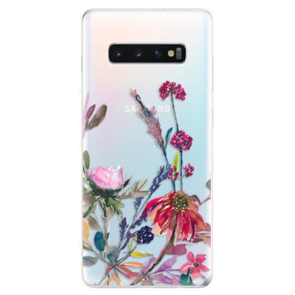Odolné silikonové pouzdro iSaprio - Herbs 02 - Samsung Galaxy S10+