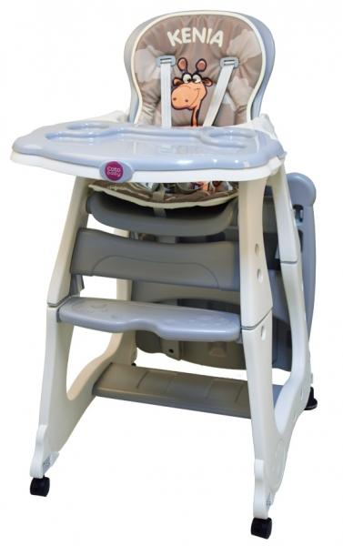 Jídelní židlička Kenia 2018 - šedá