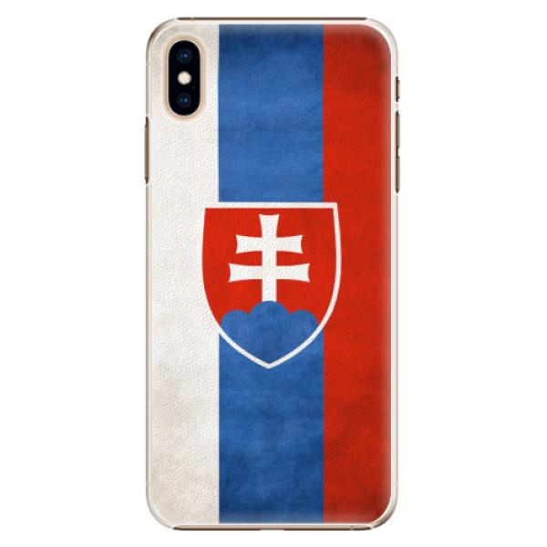 Plastové pouzdro iSaprio - Slovakia Flag - iPhone XS Max