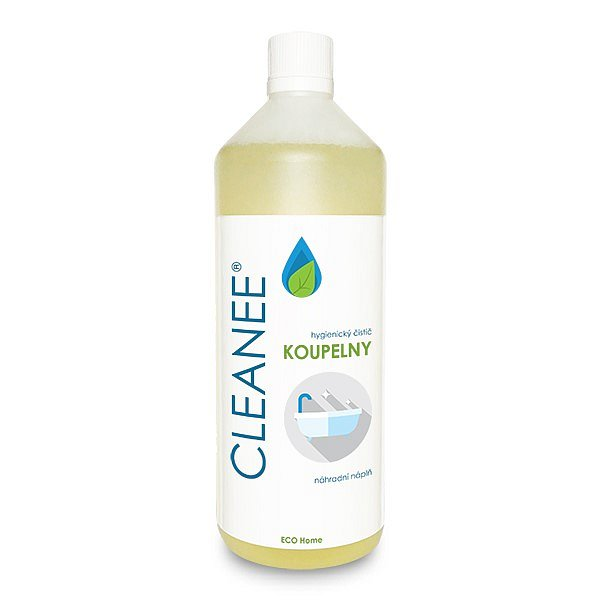CLEANEE hygienický čistič na KOUPELNY - náhradní náplň 1 L