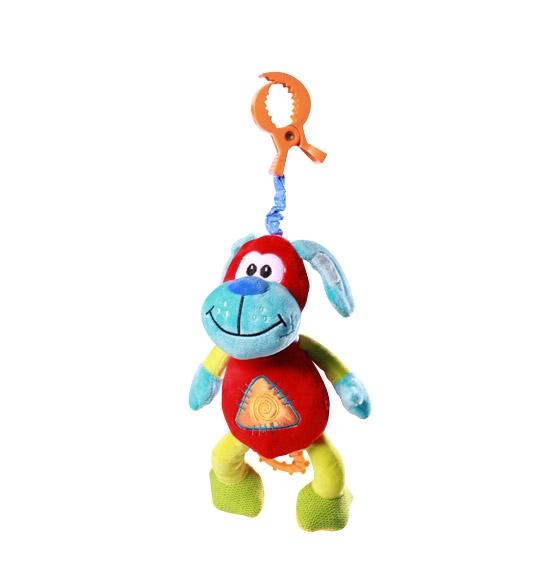 Vibrující hračka s klipsou Baby Ono - Pejsek