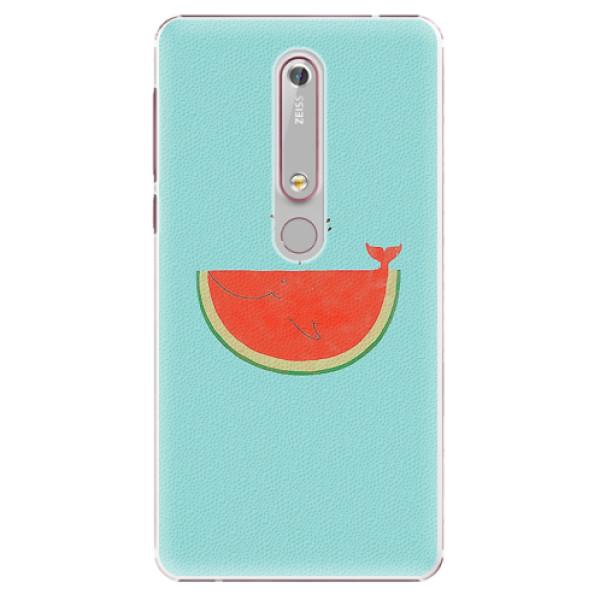 Plastové pouzdro iSaprio - Melon - Nokia 6.1