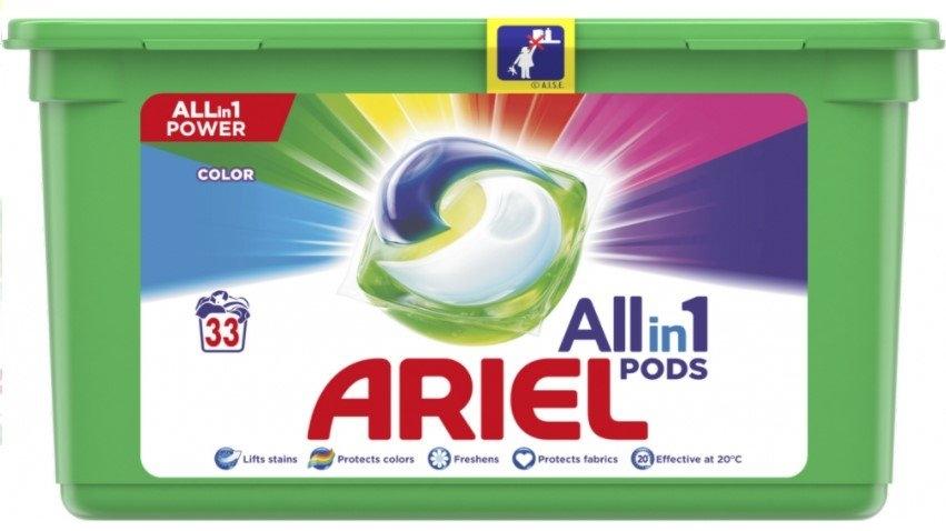 Ariel Color gelové kapsle 33 ks