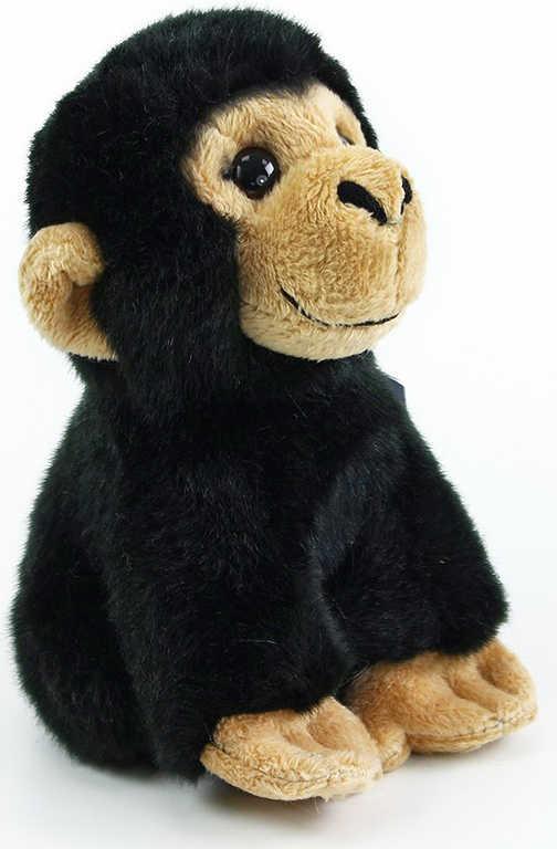 PLYŠ Opice černá 16cm exkluzivní kolekce *PLYŠOVÉ HRAČKY*