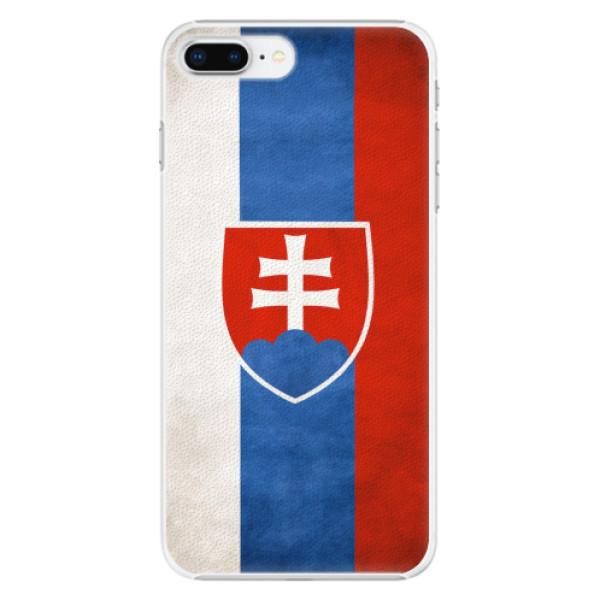 Plastové pouzdro iSaprio - Slovakia Flag - iPhone 8 Plus