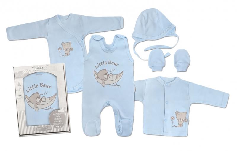 Mamatti Novorozenecká sada do porodnice, modrá