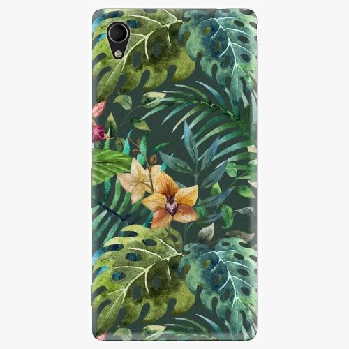 Plastový kryt iSaprio - Tropical Green 02 - Sony Xperia M4