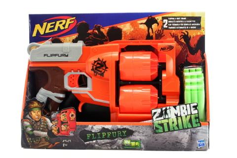Nerf Zombie s 2 bubny