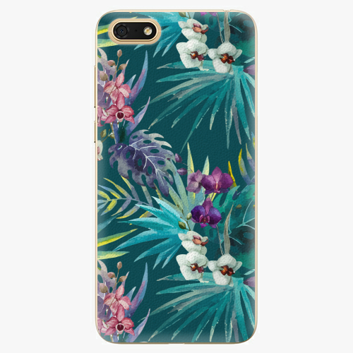 Silikonové pouzdro iSaprio - Tropical Blue 01 - Huawei Honor 7S