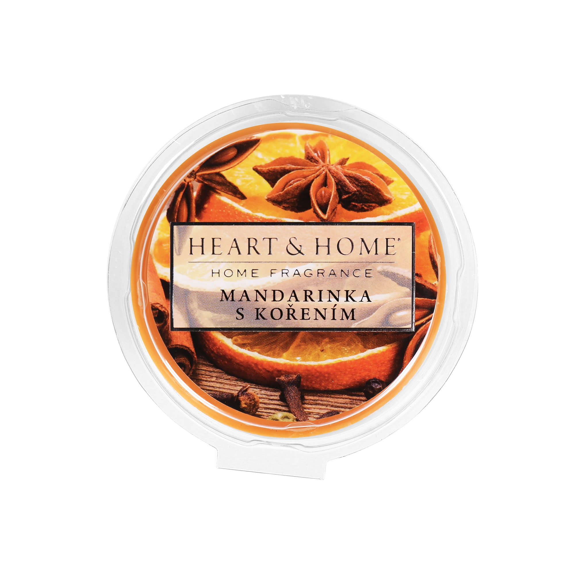 Vonné vosky - Vonný vosk - Mandarinka s kořením