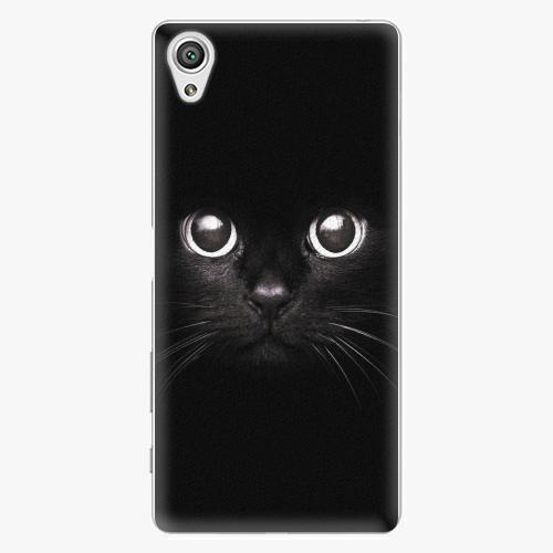 Plastový kryt iSaprio - Black Cat - Sony Xperia X