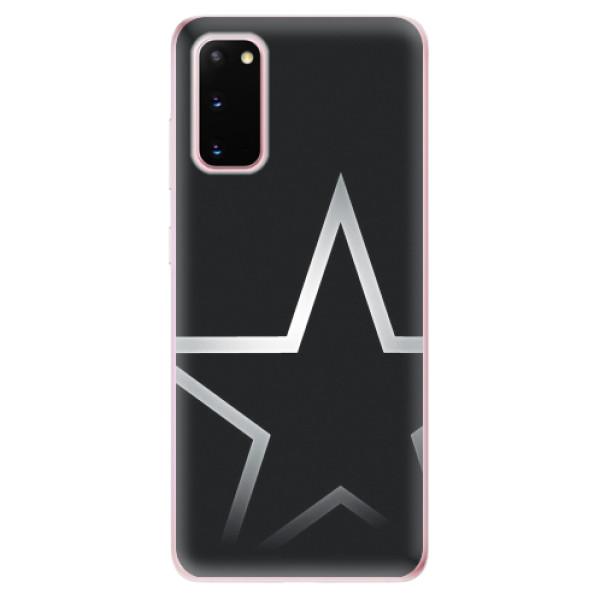 Odolné silikonové pouzdro iSaprio - Star - Samsung Galaxy S20