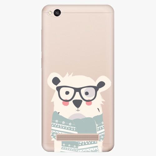 Plastový kryt iSaprio - Bear With Scarf - Xiaomi Redmi 4A
