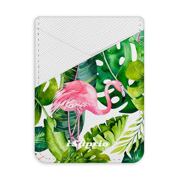 Pouzdro na kreditní karty iSaprio - Jungle 02 - světlá nalepovací kapsa