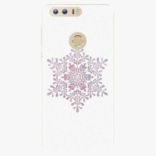 Plastový kryt iSaprio - Snow Flake - Huawei Honor 8