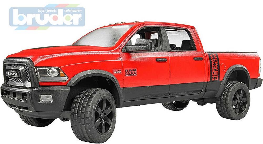 BRUDER 02500 (2500) Auto terénní džíp RAM 2500 Power Wagon funkční model 1:16