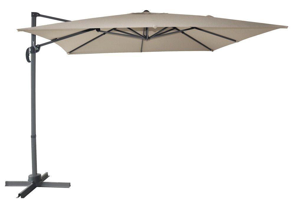 Slunečník Cantielver, béžový, 270 cm
