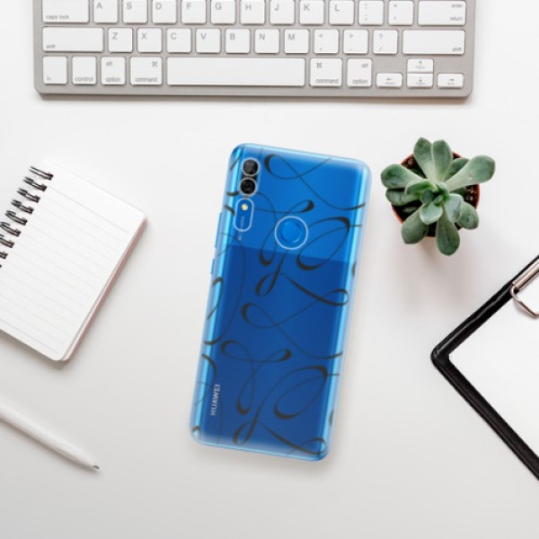 Odolné silikonové pouzdro iSaprio - Fancy - black - Huawei P Smart Z