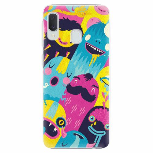 Plastový kryt iSaprio - Monsters - Samsung Galaxy A20e